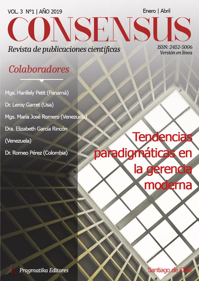 Consensus Vol 3, Num 1, Año 2019
